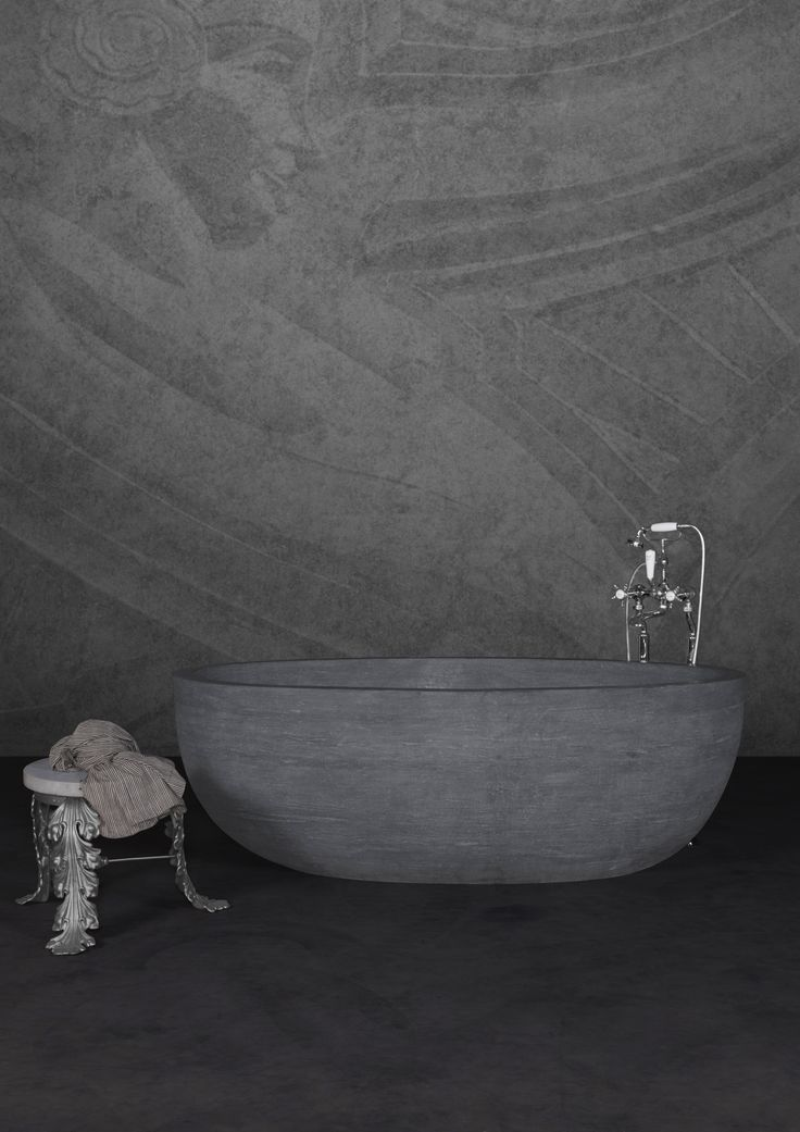 The Taboo - simple clean lines create the elegant beauty of this marble bath from the Hurlingham Bath Range. #hurlinghambaths #marblebaths