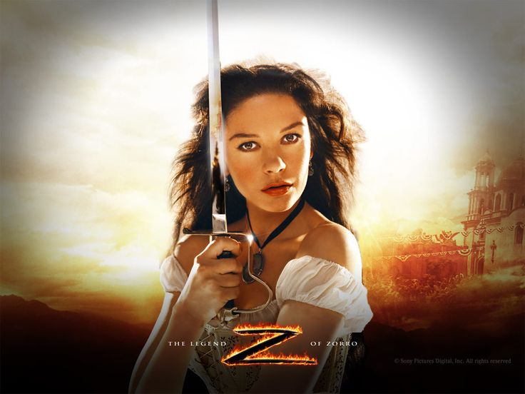 Catherine Zeta-Jones in The Legend of Zorro Wallpaper 1