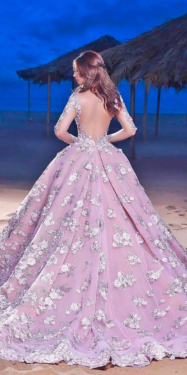 18 Purple Wedding Dresses New Trend For 2019 Wedding Dresses Guide A Line Wedding Dress Purple Wedding Dress Wedding Dress Trends