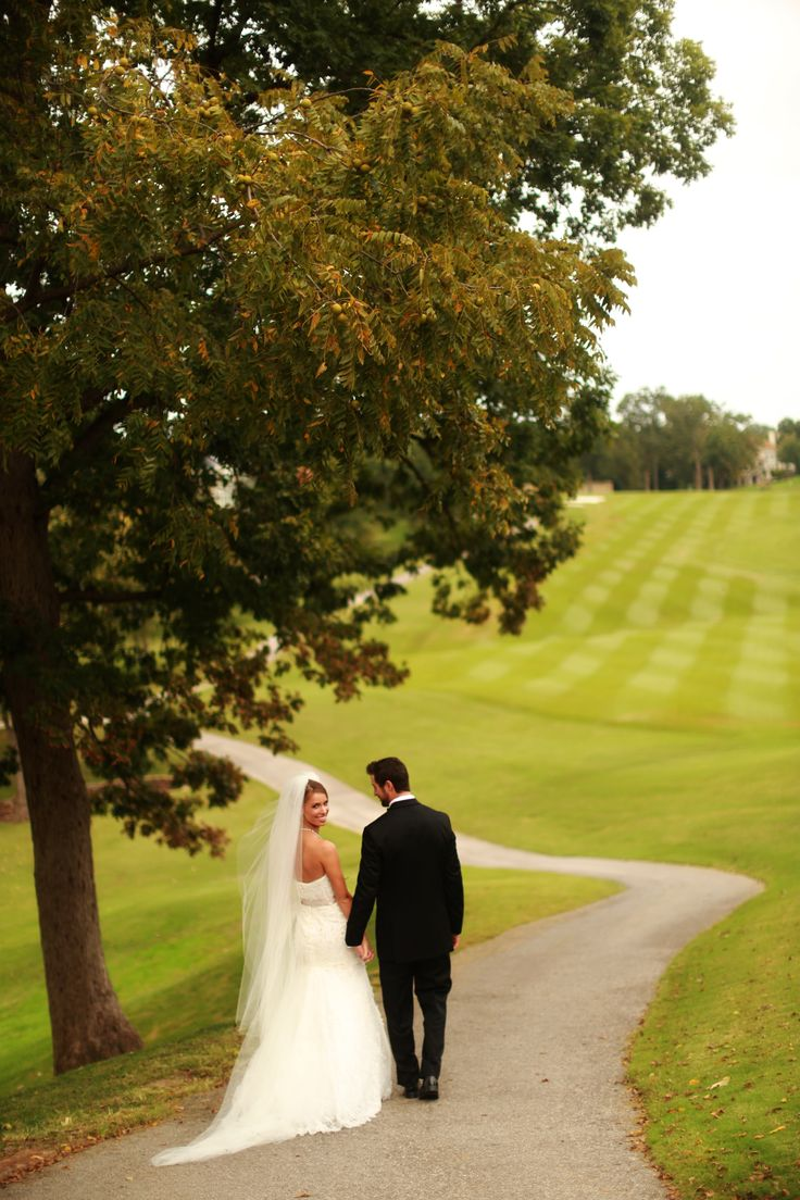Golf Course Wedding Country Club Wedding Arkansas Wedding  Photo Courtesy Benfield Photography, Fayetteville, Arkansas