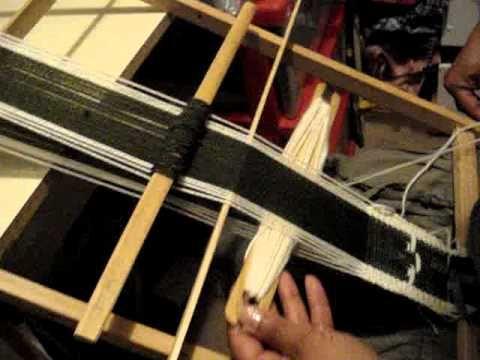 telar mapuche - YouTube