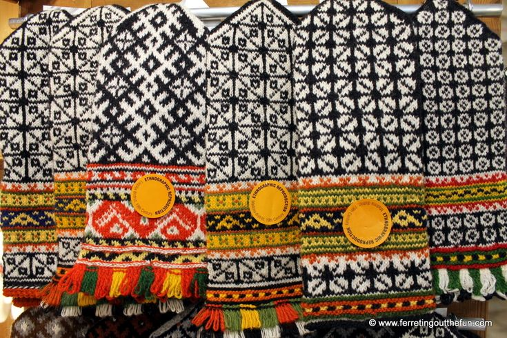 Traditional Latvian mittens - Ferreting Out the Fun