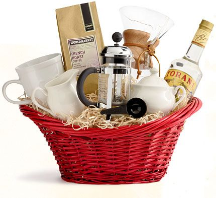 Staff Picks! Our Favorite Gift Baskets   Cost Plus World Market. They have great idea. I love the Italian dinner inspired one.