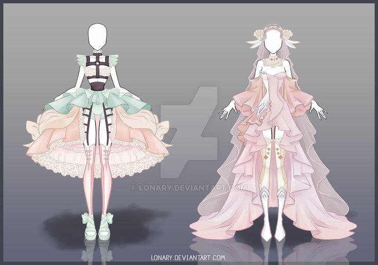[Open] Design adopt_46-47 by Lonary.deviantart.com on @DeviantArt