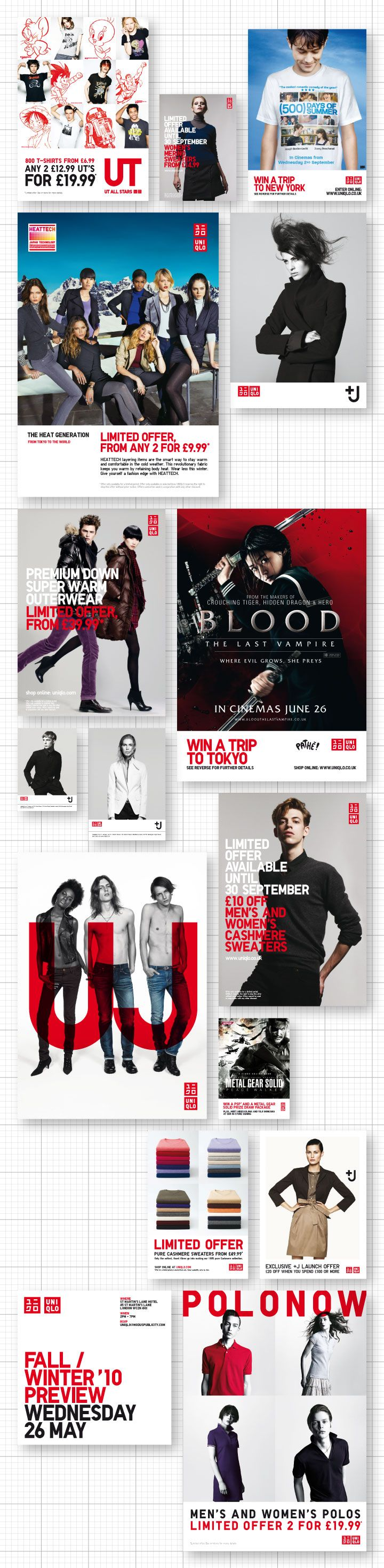Uniqlo Print Work