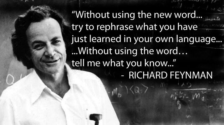 Richard Feynman's method for understanding science can also be used for detecting pseudoscience.