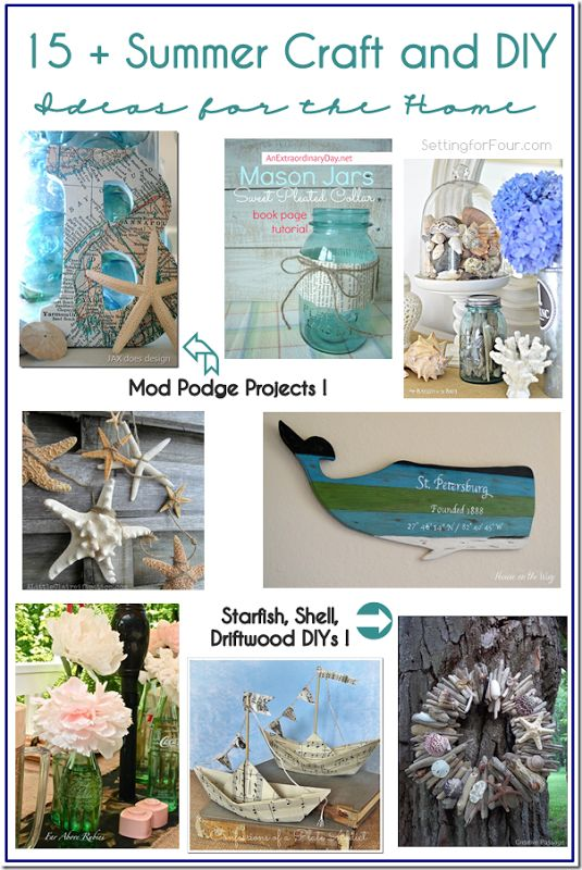 15 summer craft and diy ideas for the home summer for Home decor yorkton