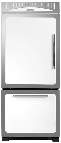 "HCBMR19RWHT Heartland 30"" Classic Bottom Mount Refrigerator - Right Hinge - White"