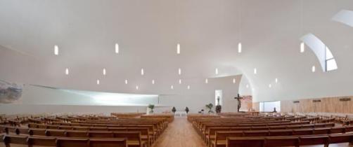 Church of Senhora da Boa Nova, Estoril, Portugal by Roseta Vaz Monteiro Architects
