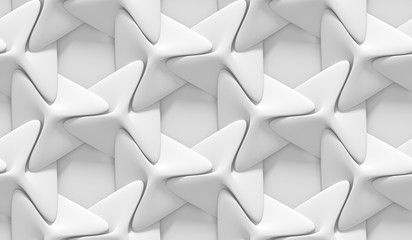 White shaded abstract geometric pattern  Origami paper style