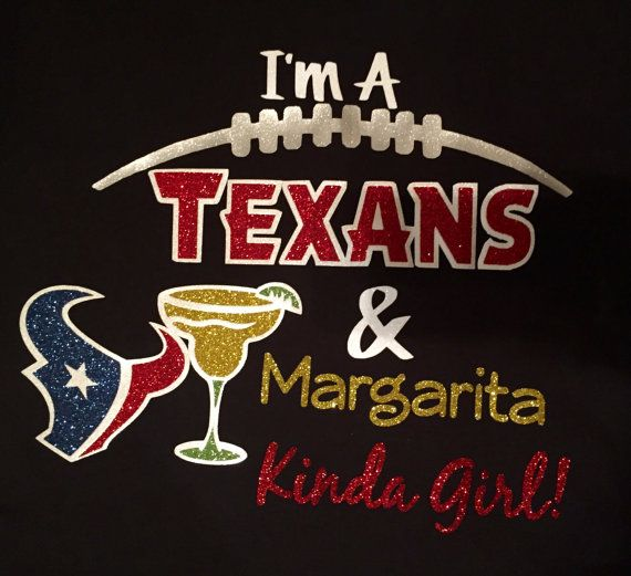 Houston Texans and drink Kinda Girl Glitter Ladies by SettinTrendz