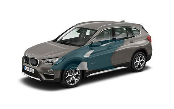 Bmw X1 Estate Sdrive 18i M Sport Step Auto 5dr Automatic With