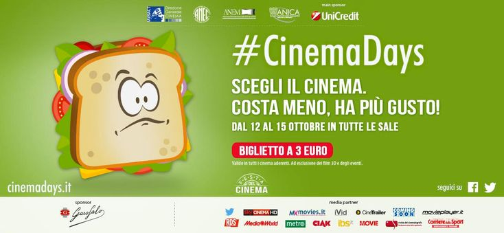 Festa del Cinema: Dal 12 al 15 Ottobre ingresso 3 euro - http://www.grottaglieinrete.it/it/festa-del-cinema-dal-12-al-15-ottobre-ingresso-3-euro/ -   ciema vittoria, cinema, cinemadays, cinemagrottaglie, festa del cinema, spettacoli - #CiemaVittoria, #Cinema, #Cinemadays, #Cinemagrottaglie, #FestaDelCinema, #Spettacoli