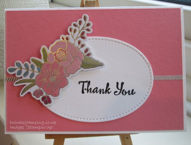 Twinks Stamping | Stampin' Up! Demonstrator: Thank you - Perennial Birthday