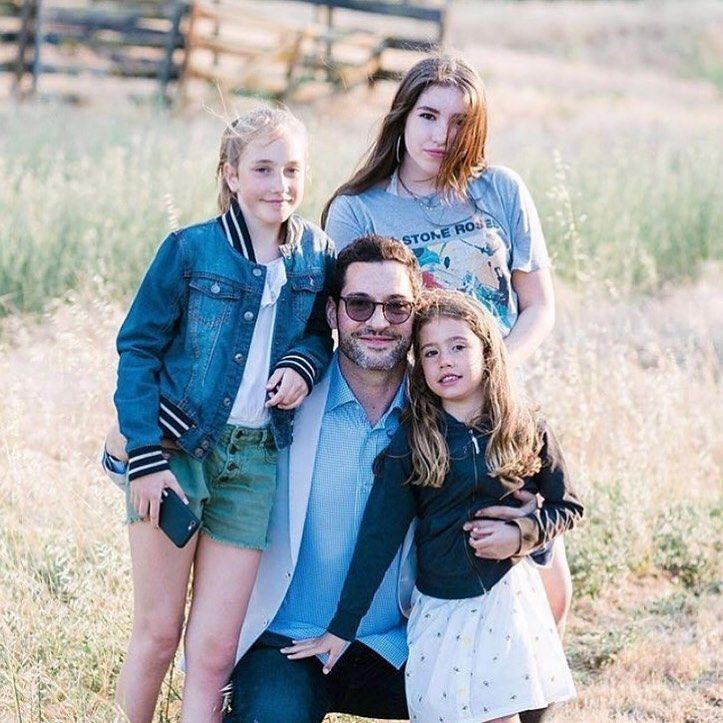 Tom Ellis Family