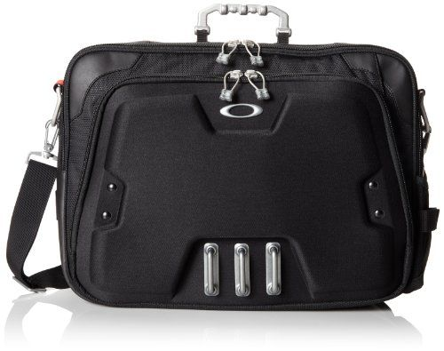 Oakley Men's Home Office  Computer Briefcase, Black, One Size -  http://www.wahmmo.com/oakley-mens-home-office-computer-briefcase-black-one-size/ -  - WAHMMO