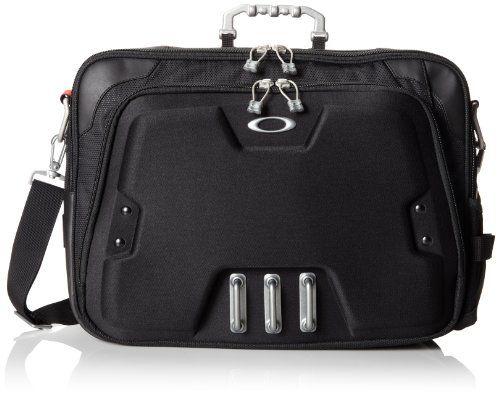 Sale Preis: Oakley Men's Home Office  Computer Briefcase, Black, One Size. Gutscheine & Coole Geschenke für Frauen, Männer & Freunde. Kaufen auf http://coolegeschenkideen.de/oakley-mens-home-office-computer-briefcase-black-one-size