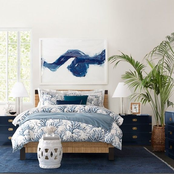 Printed Coral Bedding | Williams-Sonoma