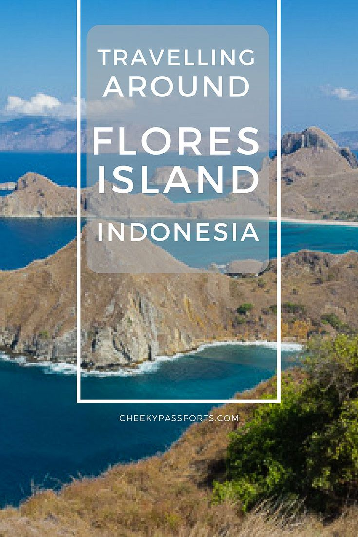 Travelling around Flores Island, Indonesia, and the Komodo National Park