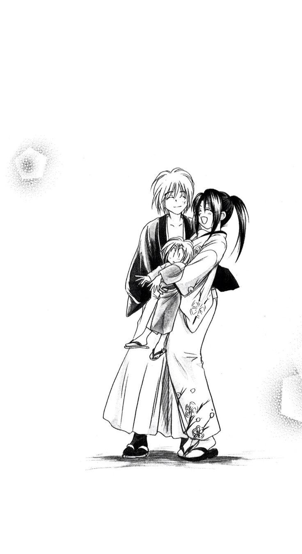 Kenshin & Kaoru & Kenji