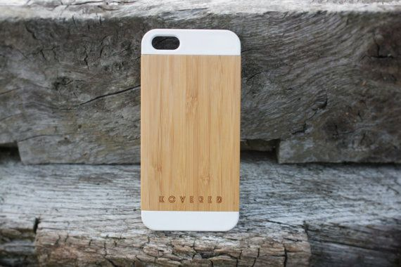 Wood iPhone Case / iPhone 5 Wood Case / iPhone 5 Case / iPhone 5 Cover / Bamboo iPhone 5 Case / Ultra Slim / Gift Idea
