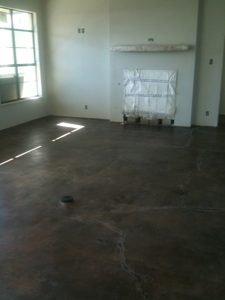 25 best ideas about concrete stain colors on pinterest - Interior concrete floor stain colors ...