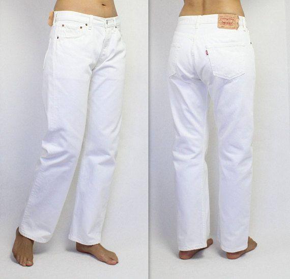 Levis 501 Jeans Vintage 80s American Denim Levi Strauss Hippie