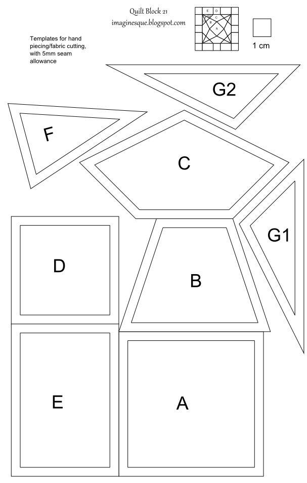 639 best paper piecing english paper piecing images on for Free english paper piecing hexagon templates