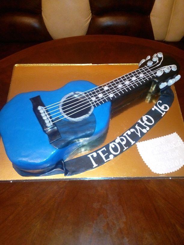гитара #торт_на_заказ_одесса #день_рождения