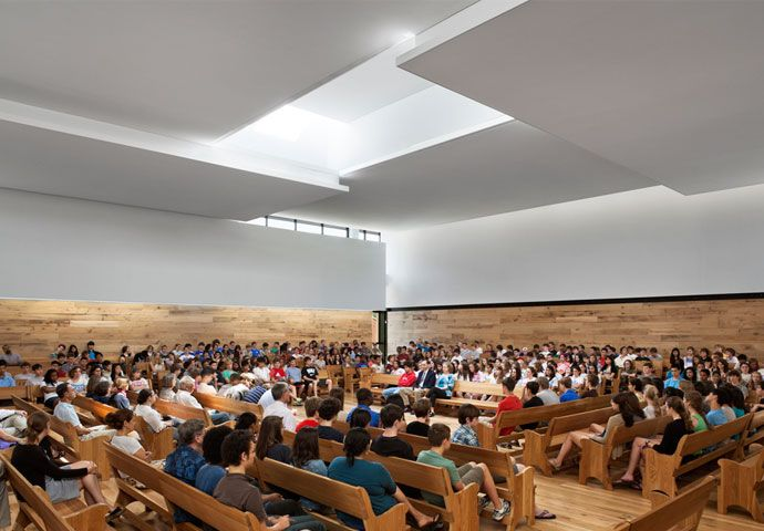Quaker Meeting House & Arts Center | Renovation at Sidwell Friends School
