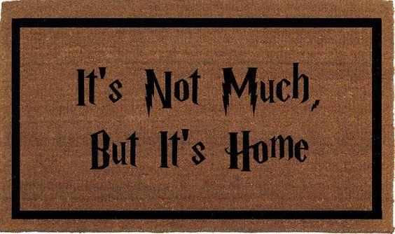 Including throw pillows, artwork, and doormats.