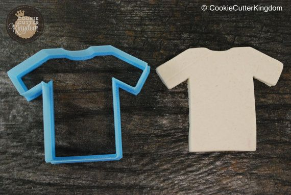 Football Jersey Cookie Cutter Mini and by CookieCutterKingdom