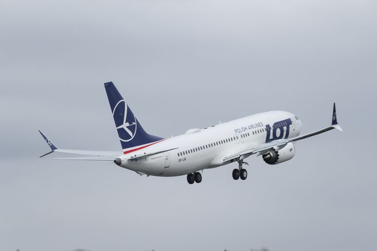A fost livrat primul Boeing 737 MAX 8 LOT Polish Airlines