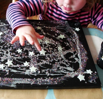 Sun Hats & Wellie Boots: A Glowing Starry Night