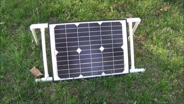 12 Best Solar Panel Stand Images On Pinterest Solar