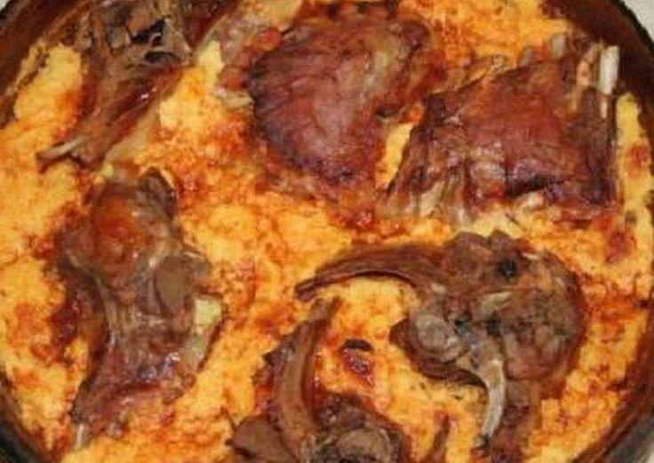 Κρέας ψητό στο φούρνο με γιαούρτι (Tave Kosi)