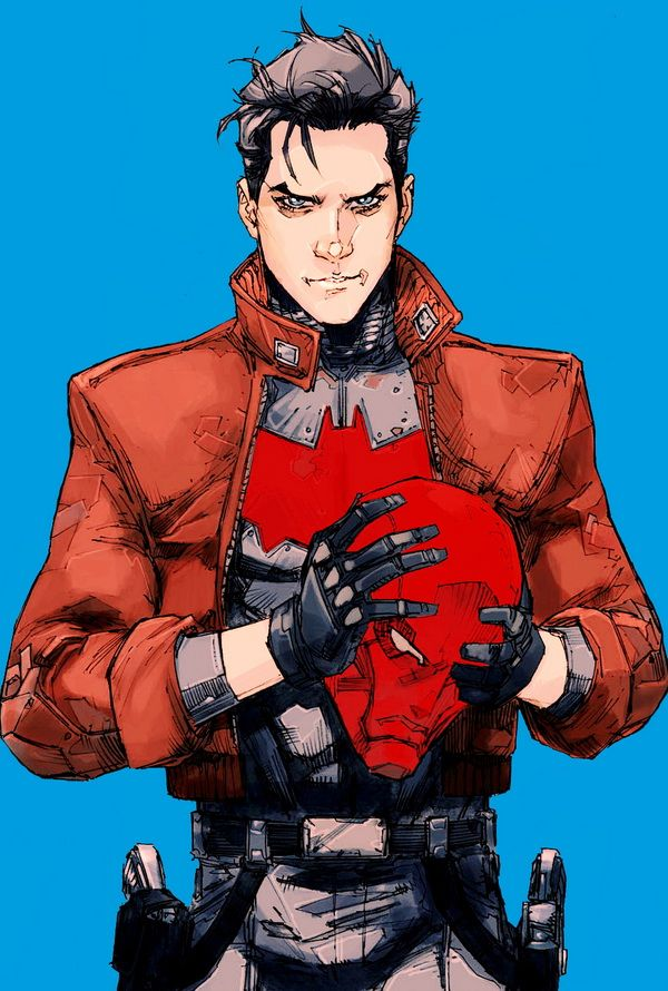 jason todd in red hood and the outlaws 8 kenneth rocafort red