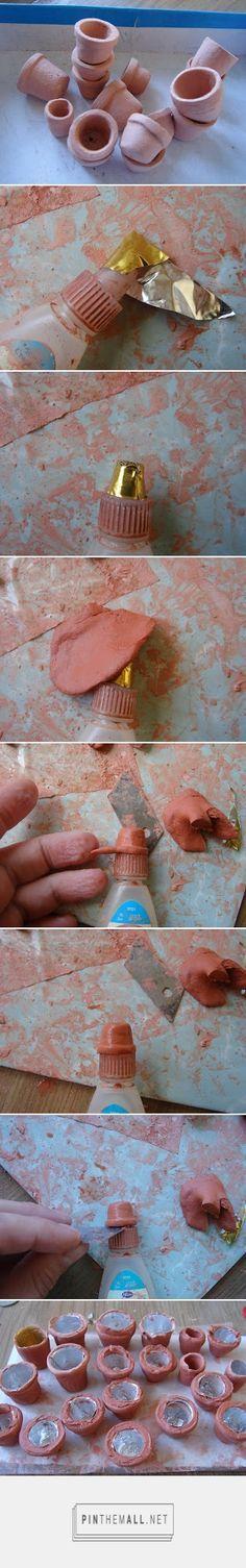 Cómo hacer macetas miniatura