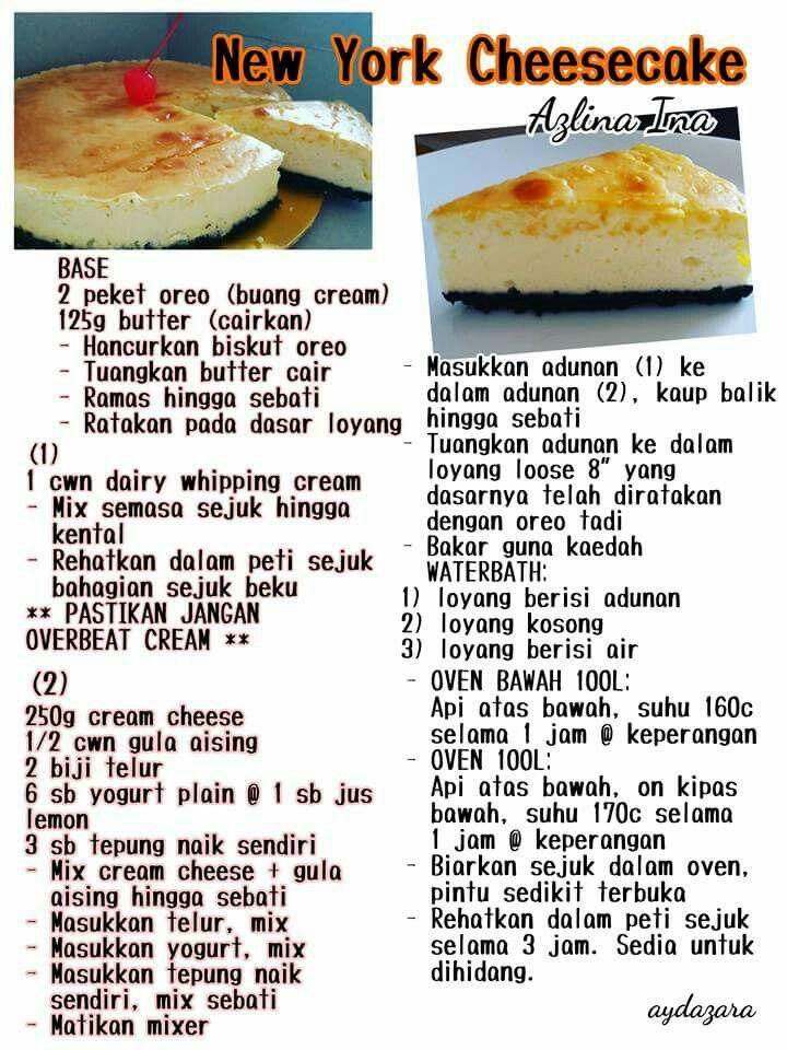 Resepi Kek Mango Cheese Azlina Ina