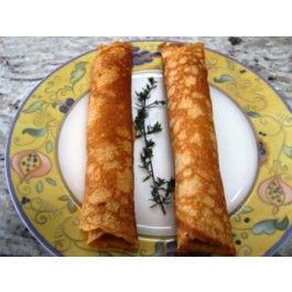Dukan Breakfast Galette (Savory Crepe) - Recipes