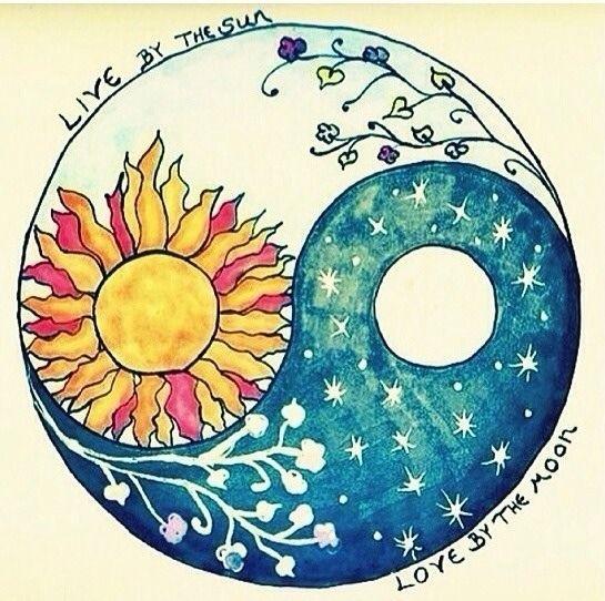 Ms de 25 ideas increbles sobre Tatuajes sol luna en Pinterest