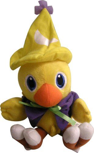 Square Enix Final Fantasy Chocobo 7″ Plush Black Mage Toy Doll New