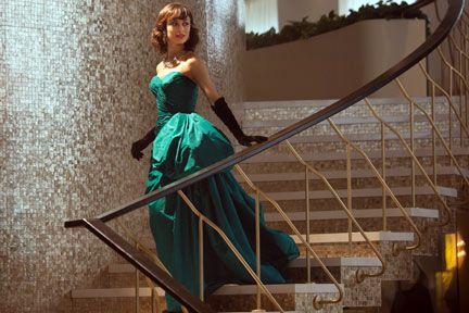 TV Fashion * Show: Magic City * Actress: Olga Kurylenko * Character: Vera Evans * Dress: Costume designer Carol Ramsey * Undergarments: Strapless corset