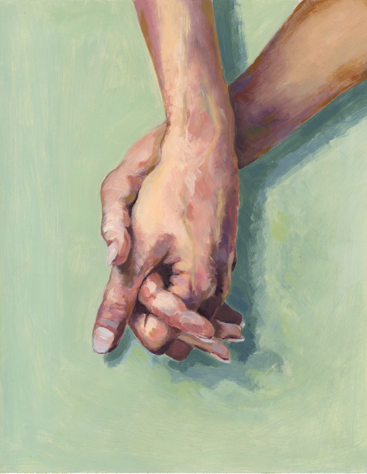 Painting of hands