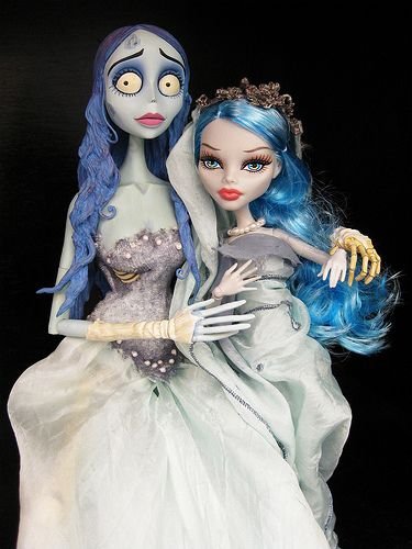 """Mother Monster   Ghoulia met Emily on her last trip to """"The …   Flickr"""