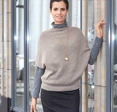 Описание вязания на спицах кашемирового пуловера из журнала «Verena. Модное Вязание» №05/2013