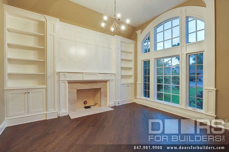 Custom Windows Project - Beautiful Living Room Window - Windsor Windows & Doors