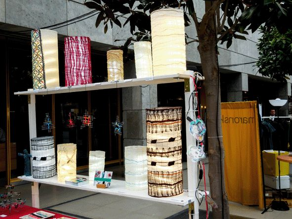 stall Uli Baysie at the designers open 3