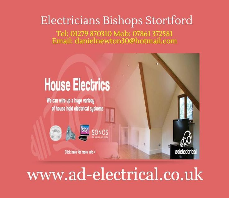 For more details you can visit at: http://www.ad-electrical.co.uk/electricians-bishops-stortford.html