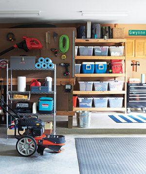 Garage storage closets and newspaper on pinterest for Closet world garage